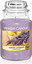 Yankee Candle 22-Ounce Jar Scented Candle, Large, Lemon Lavender