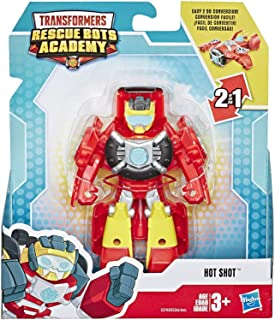 """Figures Transformers Rescue Bots Academy Hot Shot 4.5"""" Action"""