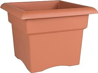 Bloem Fiskars 18 Inch Veranda 5 Gallon Box Planter, Color Clay (57018C), 18-Inch,