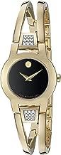 Movado Women's Swiss Quartz Gold Plated Casual Watch (Model: 0606895)