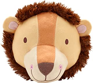Little Love by NoJo Plush Animal Head Nursery Wall Decor, Lion