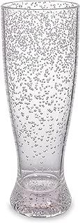 LED Light Up Colorful Bubble Pilsner Beer Glass - 16oz