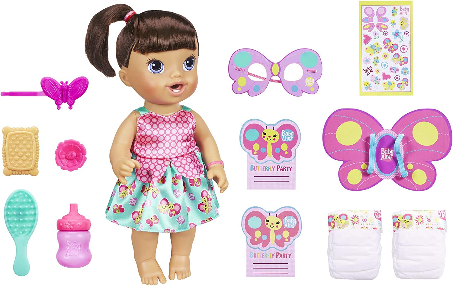 bambino Alive Butterfly Party bambola Bcorrereette by bambino Alive