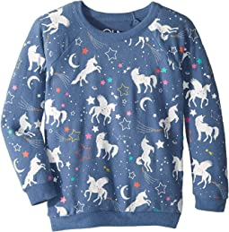 Extra Soft Love Knit Unicorn Pullover (Little Kids/Big Kids)