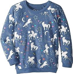 Extra Soft Love Knit Unicorn Pullover (Little Kids/Big Kids)