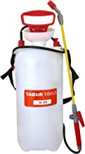 TABOR TOOLS Lawn and Garden Pump Pressure Sprayer for Herbicides, Fertilizers, Mild Cleaning Solutions and Bleach, Includes Shoulder Strap.N-80. (2.0 Gallon)