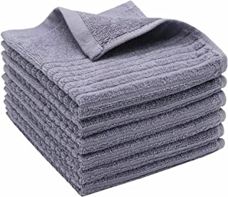 GQZLUCK 100% Cotton Kitchen Dish Cloths Terry Dish Towels, Highly Absorbent Dish Rags Wash Cloths, Fast Drying Hand Towels...