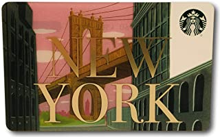 Starbucks Gift Card Collectible New York City DUMBO Manhattan Bridge No Value