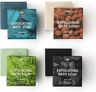 Bombay Shaving Company Exfoliating Bath Soaps, 100g (Pack of 4)