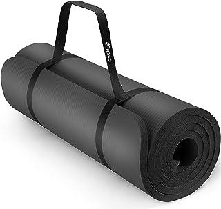 Tapis De Pilates Eco TPE Tapis de Fitness Antid/érapant avec Sac De Tapis De Yoga pour Femmes Hommes Enfants 183x61cmx0.6cm 165 Haminaya Tapis de Yoga Licorne Mignonne
