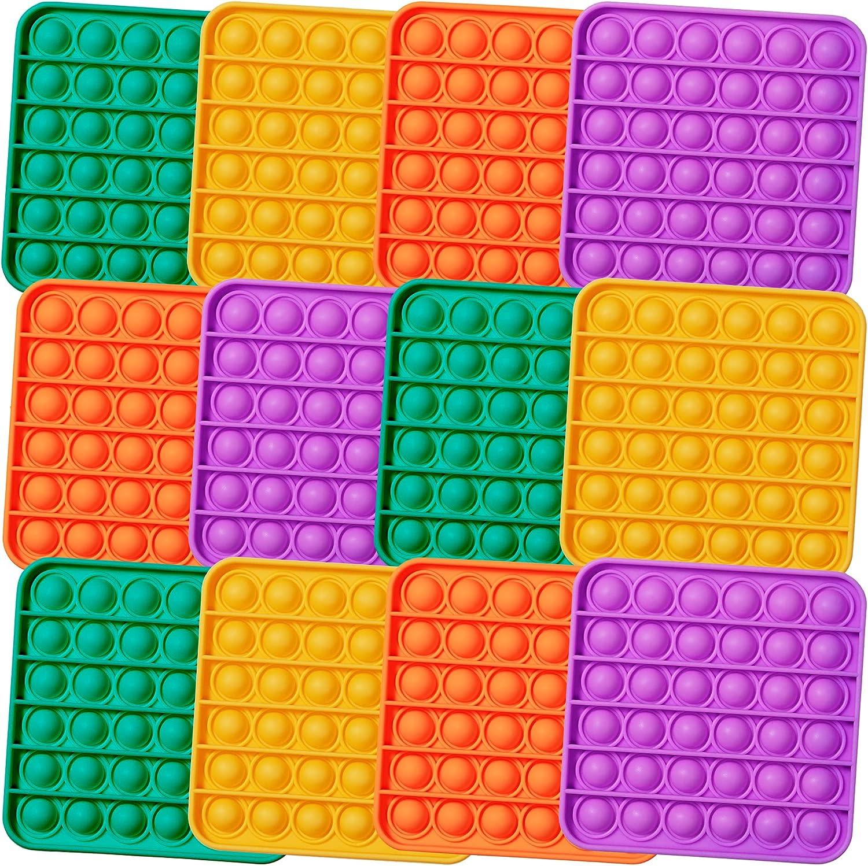 store MATICAN Push Pop Superior Fidget Squ Bubble Toy 12-Pack