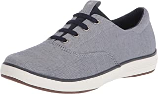 Grasshoppers womens Janey Ii Slip-on Loafer Flat, Chambray, 5 Wide US