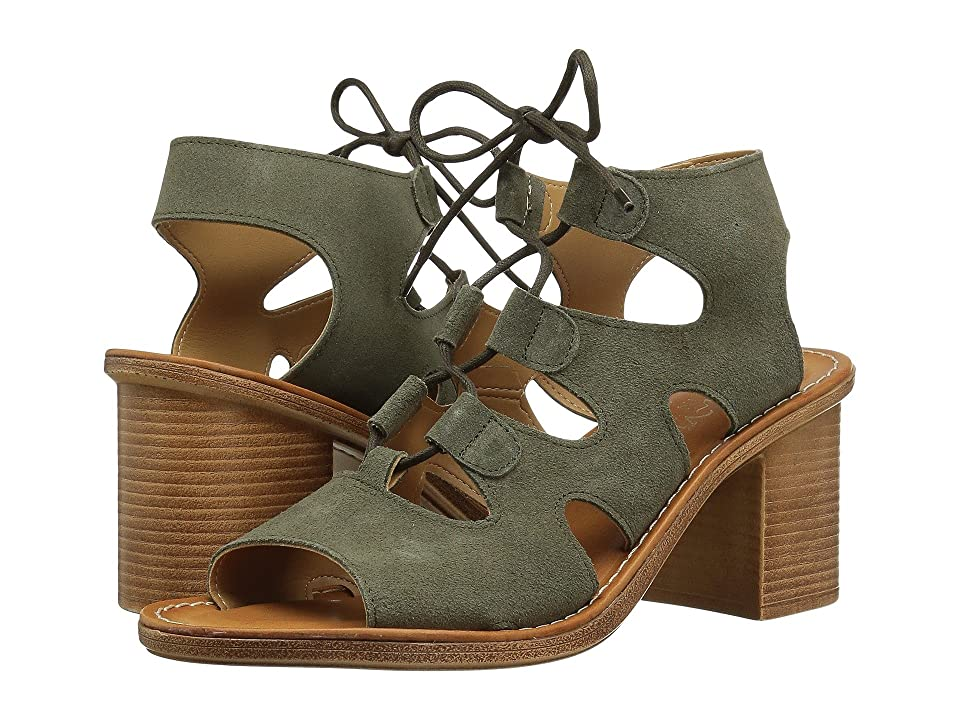 Bella-Vita Bre-Italy (Olive Suede Leather) High Heels