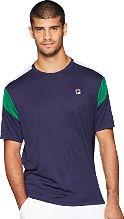 Heritage Tennis Color Blocked Crew