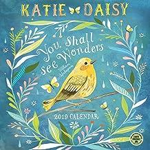 Best katie daisy 2019 wall calendar Reviews
