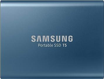 TALLA 500GB. Samsung Disco Duro Externo PSSD T5 500GB