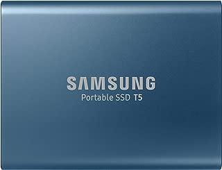Samsung T5 Portable SSD - 500GB - USB 3.1 External SSD (MU-PA500B/AM), Blue