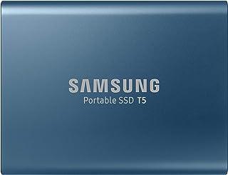 Samsung T5 MU-PA500B/EU | Disque SSD externe portable 500Go - USB 3.1 - rapide, compact et léger - Bleu