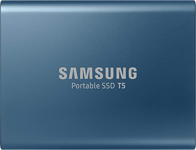 Samsung memorie t5 da 500 gb, usb 3.1 gen 2, ssd esterno portatile MU-PA500BEU