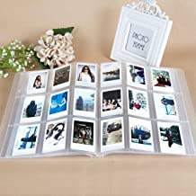 CAIUL Compatible 288 Pockets 3-Inch Mini Photo Album for Fujifilm Instax Mini 7s 8 8+ 9 25 26 50s 70 90 Film, Ticket Holder, Name Card (Clear)