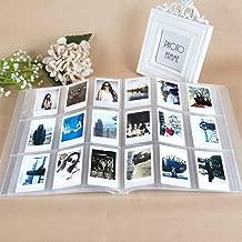CAIUL Compatible 288 Pockets 3-Inch Mini Photo Album for Fujifilm Instax Mini 7s 8 8+ 9 25 26 50s 70 90 Film, Ticket Holder, Name Card (Clear)