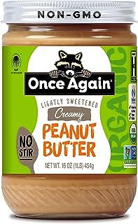 ONCE AGAIN Organic Classic Peanut Butter Creamy (No Stir)