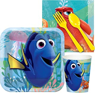 BirthdayExpress Finding Dory Party Supplies - Snack Party Pack