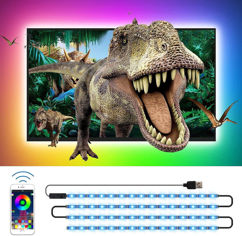 TV LED Backlights CT CAPETRONIX 13.12ft RGB Mail order Lights Strip Ki Save money USB