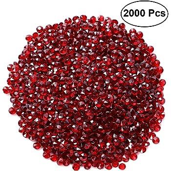 Pietre decorative-acrilico rosso ca i neri pietre in plastica sono versatile 3 sacchetti ideali decorativo o in platino granuli 25 mm x 20 mm per pietra 32 pietre lucido per sacchetto