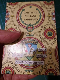 Fabriano Medioevalis Stationery- Single Card Box of 100 2.5 x 3.75 Inch