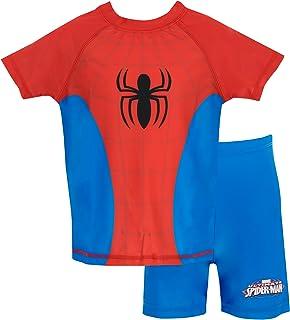 Spiderman El Hombre Araña - Bañador de Dos Piezas para niño