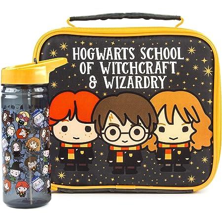 Harry Potter Almuerzo Bolsa y Botella Set Chibi Carácter Un tamaño