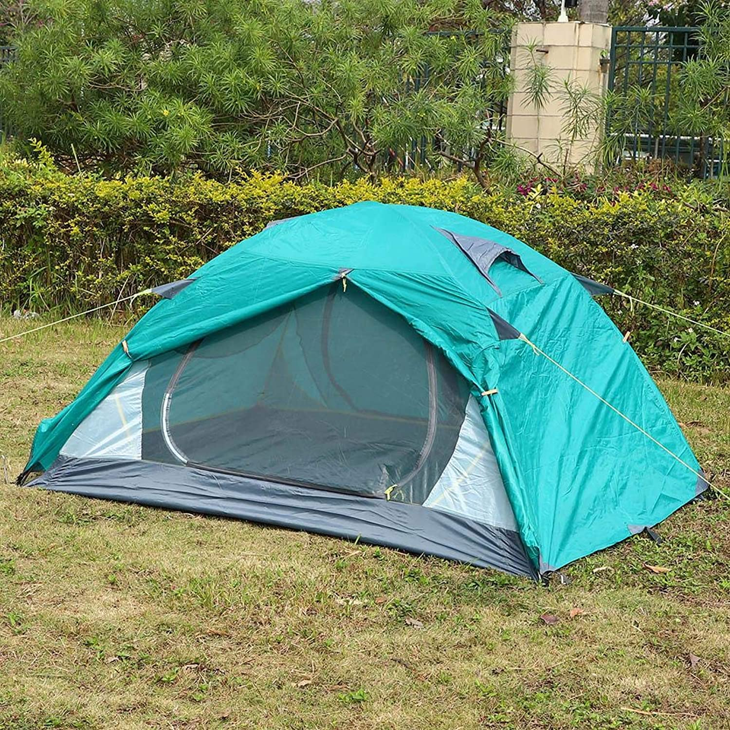 Outdoor Tents Professional Waterproof Aluminum Pole 2 Person Tent for Family, Outdoor, Hiking and Mountaineering