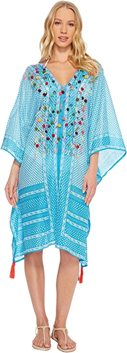 Embellished Mid Length Cover-Up