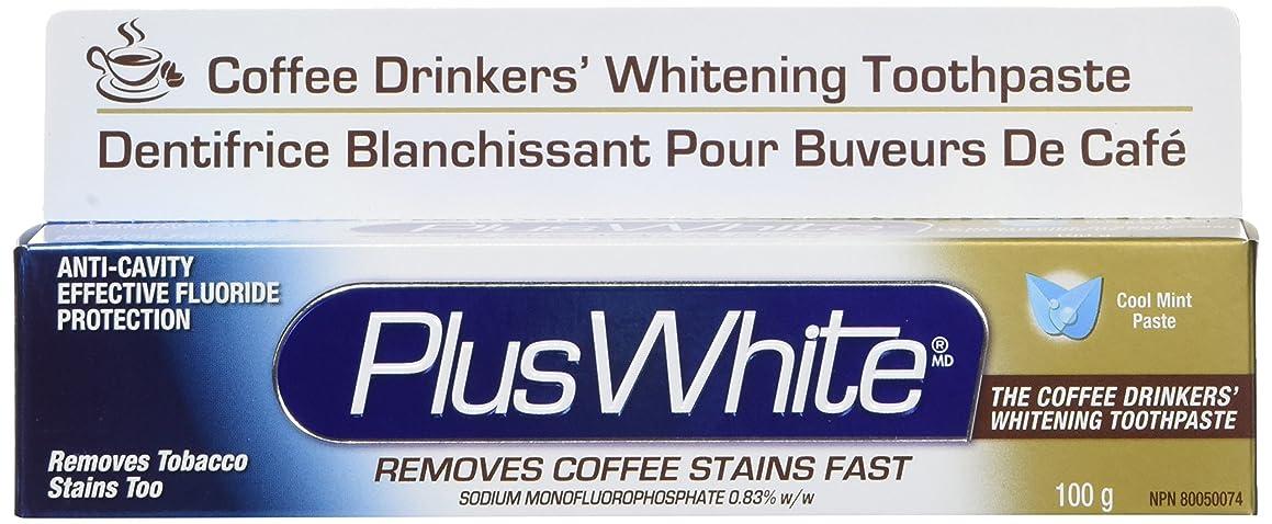 アルプスライフルテクニカルPlus White, The Coffee Drinkers' Whitening Toothpaste, Cool Mint Flavor, 3.5 oz (100 g)