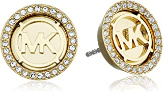 Michael Kors Tone Gold Stud Earrings