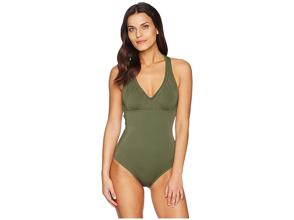Prana Khari One-Piece (Cargo Green) Women