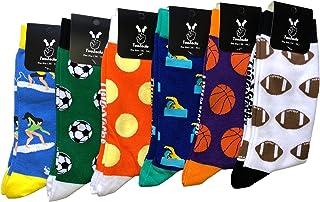 Football Socks Men & Women medias divertidas y divertidas como regalo, algodón, talla única