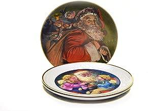 Avon Fine Collectibles Christmas Santa's Collector's Plates - 8