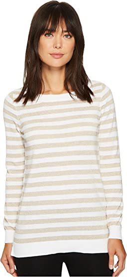 MICHAEL Michael Kors - Lurex Stripe Sweater