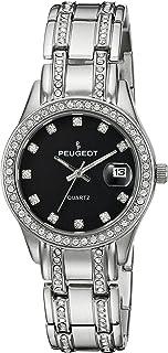 ساعة بيجو كواترز معدنية وستانلس ستيل رسمية للنساء