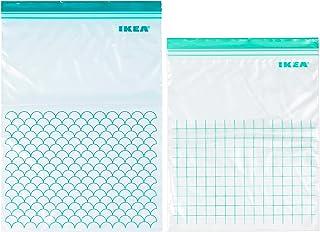 كيس بلاستيك ISTAD ، ألوان متنوعة ، عبوة من 30 ، يشمل: 15 كيس 6 لتر (28.5 × 41 سم) و 15 كيس 4.5 لتر (27 × 34 سم). يمكن استخ...