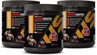 Muscle Enhancer Supplements - German CREATINE Powder - 100% Pure MICRONIZED CREATINE MONOHYDRATE - Creatine Powder Made in...