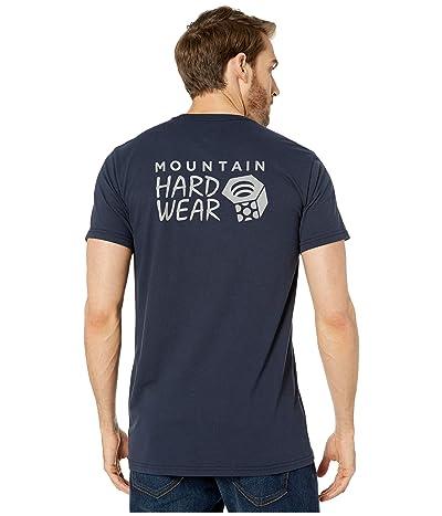 Mountain Hardwear Hardweartm Logo Short Sleeve Tee (Dark Zinc) Men