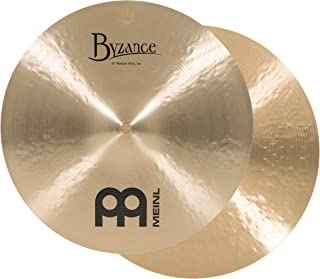 Meinl Cymbals B14MH Byzance 14-Inch Traditional Medium Hi-Hat Cymbal Pair (VIDEO)