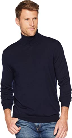 Washable Merino Turtleneck Sweater