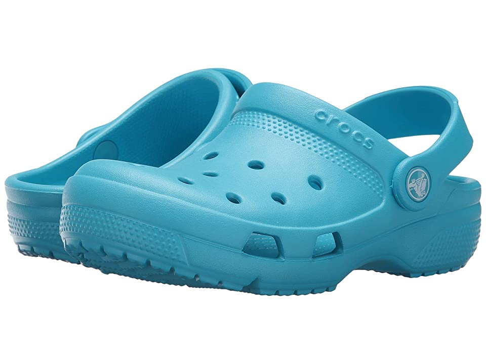 Crocs Kids Coast Clog (Toddler/Little Kid) (Electric Blue) Kids Shoes