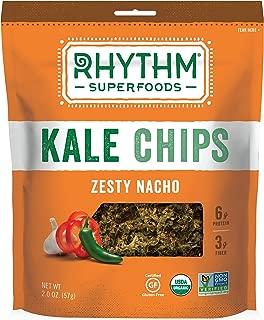 Rhythm Superfoods Organic Kale Chips, Zesty Nacho, 2 oz