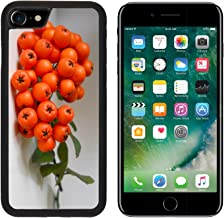MSD Premium Apple iPhone 7 Aluminum Backplate Bumper Snap Case iPhone7 IMAGE ID: 32693896 Autumn orange berries Aucuparia sorbus Rowan tree