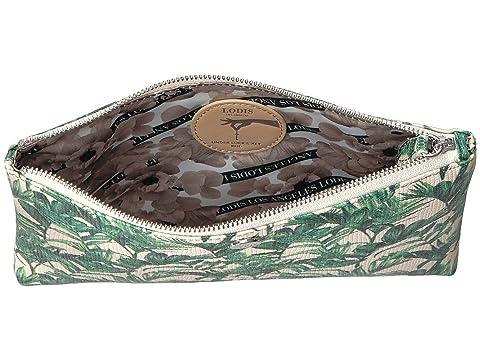 Flat Accesorios Pouch Green Palm Lodis zrAxEr